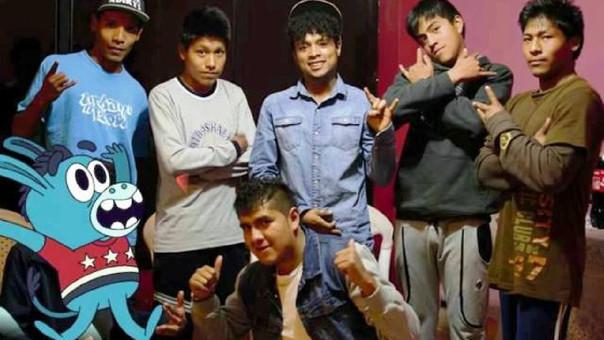 Jóvenes en Calca