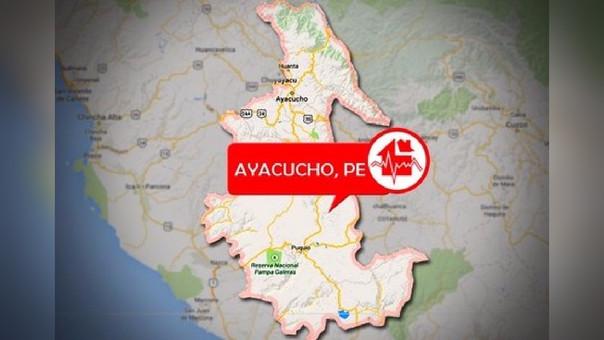Sismo en Ayacucho