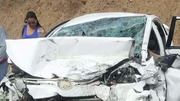 Hasta el lugar del accidente llegaron agentes de la Policía y el fiscal de turno.