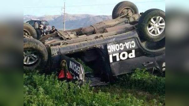Concepción accidente