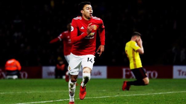 Jesse Lingard juega en el Manchester United desde las divisiones inferiores.
