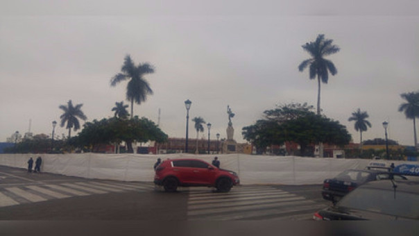 Plaza remodelada