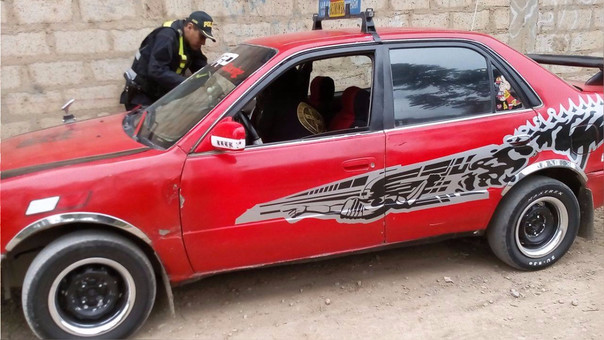 Tarma, taxista detenido