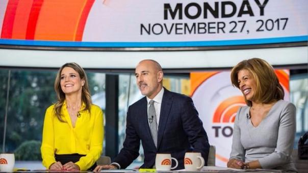 NBC despide al periodista Matt Lauer