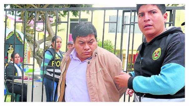 La condena de Silvio Aquino Sangay (46) culminara en el año 2050