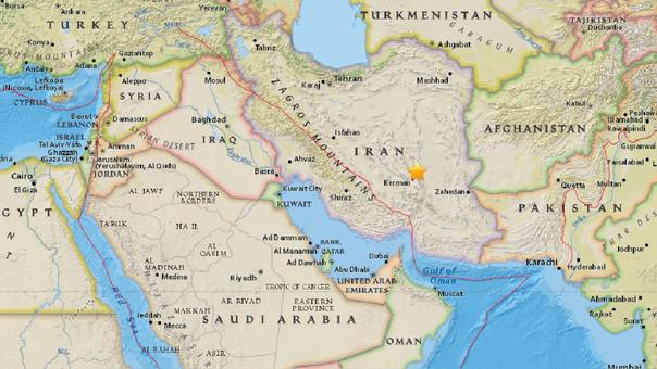 Resultado de imagen para Sismo de magnitud 6,0 sacude Irán