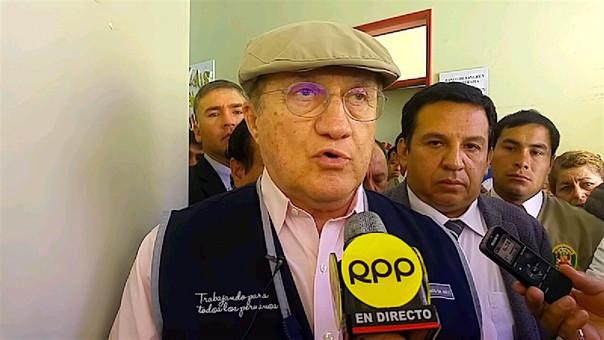 Ministro de Salud en Cajamarca