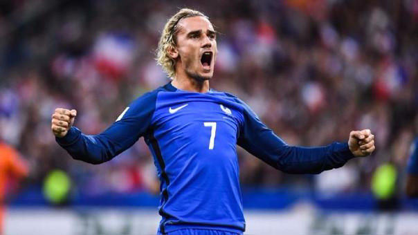 Antoine Griezmann es la figura de la Selección de Francia.