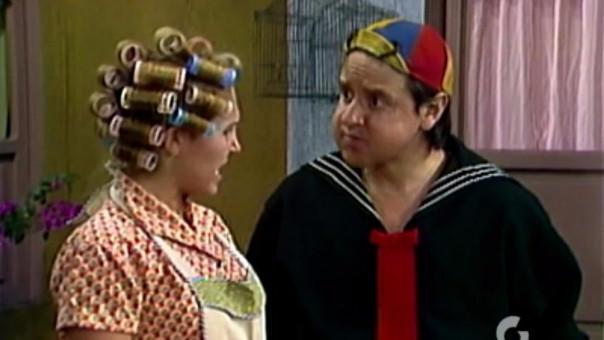 'Quico' y 'Doña Florinda'