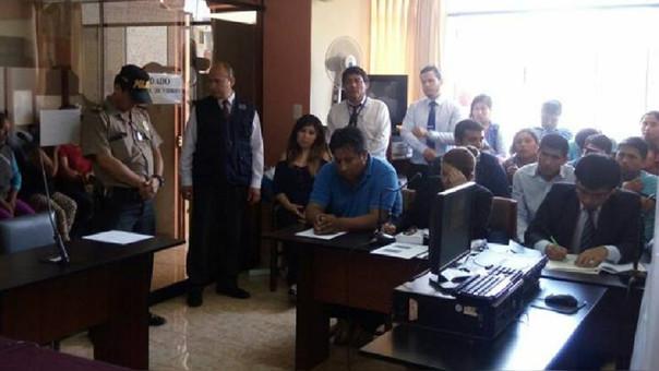 Audiencia de pedido de prisión preventiva tentativa de feminicidio