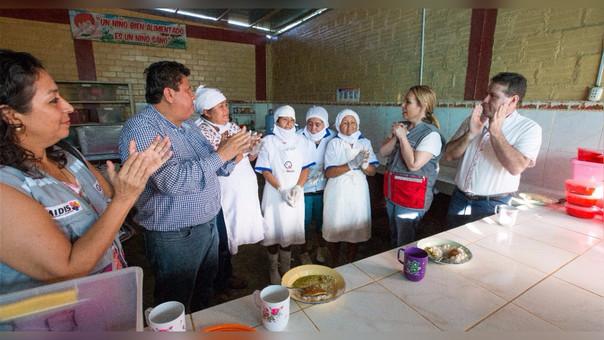 Inauguran proyectos productivos en Ucayali.