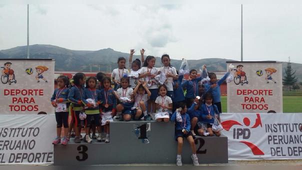 Huancayo: campeonato de escolares