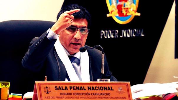 Richard Concepción Carhuancho fue el juez de muchos casos de interés nacional.