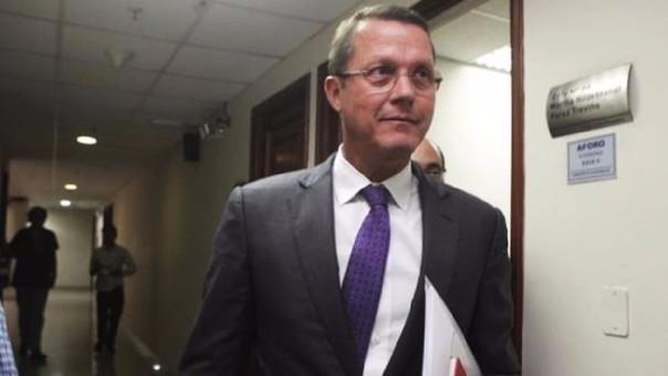 Barata excluido de investigación por lavado de activos — Odebrecht