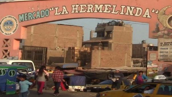 Mercado Hermelinda.