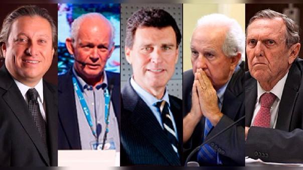 Fernando Castillo, Gonzalo Ferraro, Fernando Camet, Hernando Graña, José Graña son investigados por tener vínculos en coimas de Odebrecht.