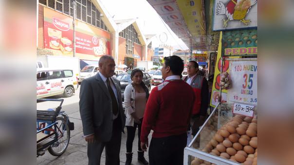 Huancayo, inspección mercados