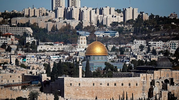 Jerusalén tiene 857 mil habitantes.