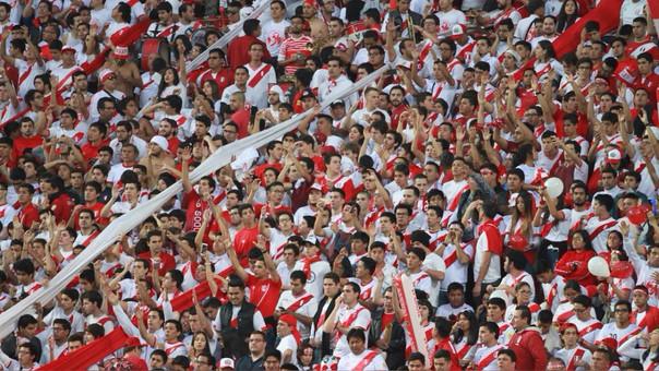 La Selección Peruana tuvo aproximadamente 4.000 hinchas dentro del Westpac Stadium en la ida del repechaje a Rusia 2018 contra Nueva Zelanda.