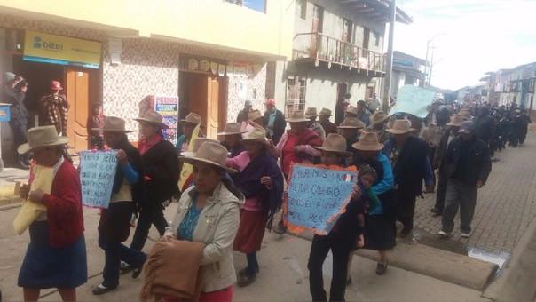 Protesta Julcán