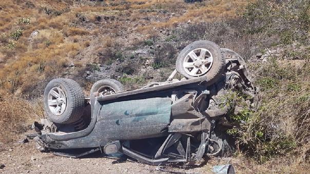 Accidente de tránsito dejó tres muertos.