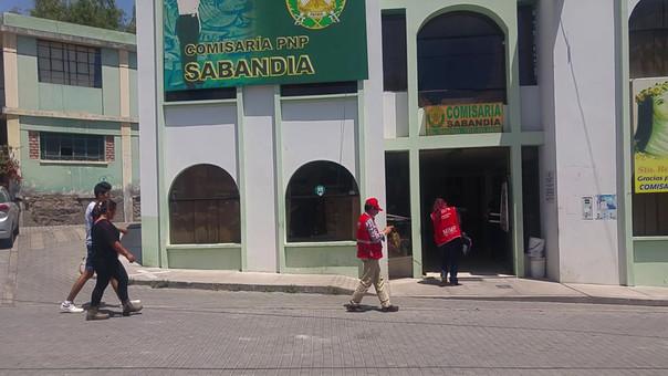 Comisaría de Sabandía