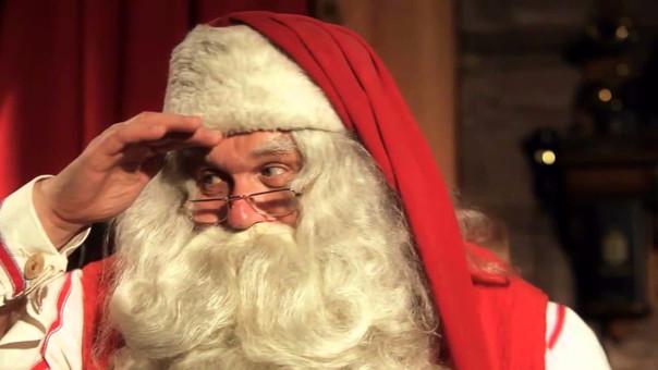 Niño de seis años le dice a Santa,