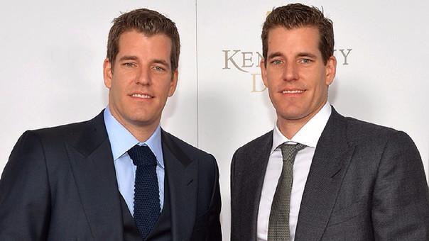 Los gemelos Tyler y Cameron Winklevoss son los primeros milmillonarios del bitcoin