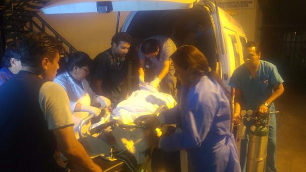 Heridos en accidente