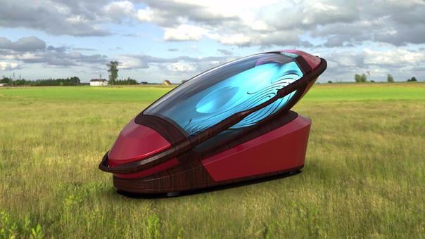 The sarco, la máquina para el suicidio que se imprime en 3D