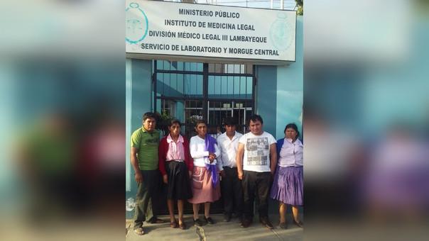 Familiares de Cristóbal León Intor llegaron hasta la morgue de Chiclayo