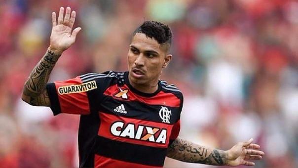 El contrato de Paolo Guerrero con Flamengo vence en agosto del 2018.