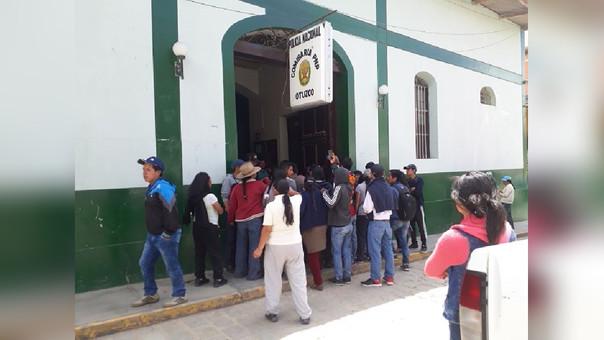 Universitarios detenidos
