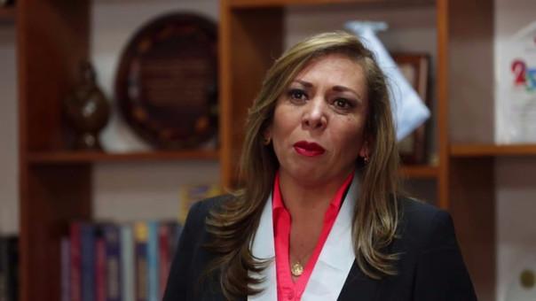 María Elena Portocarrero pasó segunda en las votaciones para el Colegio de Abogados de Lima.