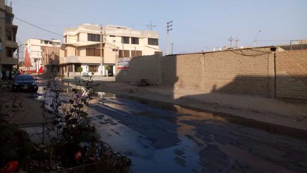 Reportan incendio en estacionamiento de buses — SMP