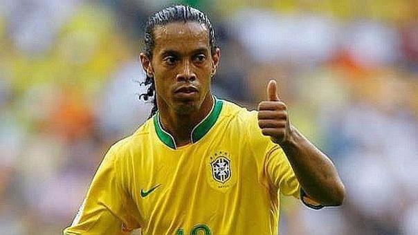 Ronaldinho ganó el Mundial con Brasil en Corea Japón 2002.