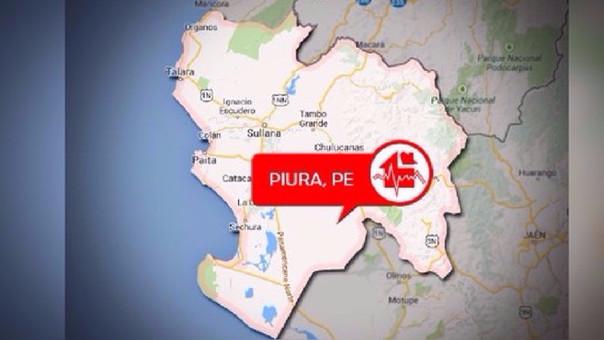 La semana pasada un sismo de 4,7 grados de magnitud también sacudió este distrito piurano.