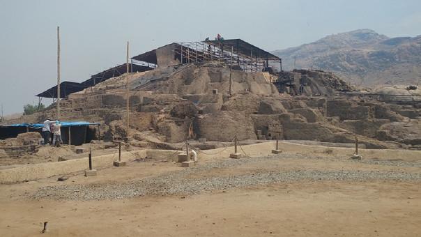 Trabajos en complejo arqueológico Ventarrón