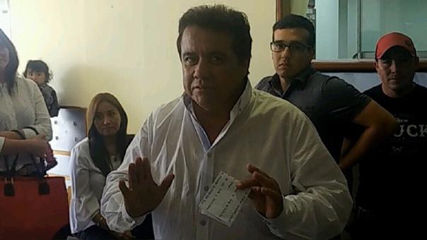 Ordenan prisión por 36 meses contra empresario Carlos Roncal.