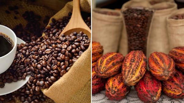 Para estos productos la región Lima figura como principal lugar de procedencia, cuando en esta región no se producen ni café ni cacao.