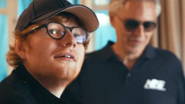 Ed Sheeran y Andrea Bocelli