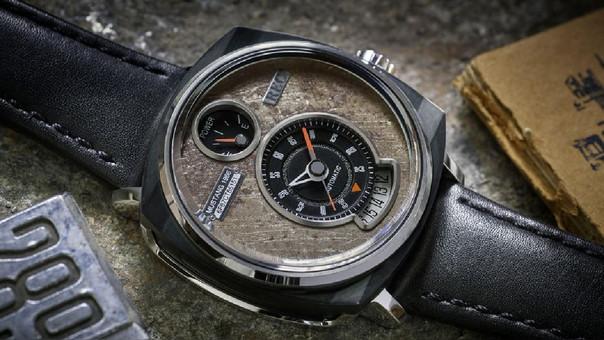 Este reloj automático nació de un Ford Mustang de 1966.