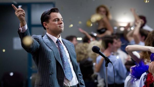 Leonardo Dicaprio interpretó a Belfort en la película de Martin Scorsese El lobo de Wall Street (2013).