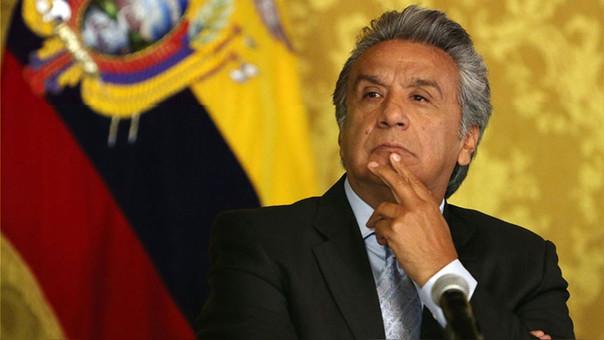 Moreno es presidente de Ecuador desde el 24 de mayo de 2017.