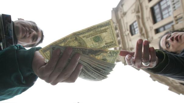 Banco Central no intervino directamente en el mercado comprando ni vendiendo dólares.