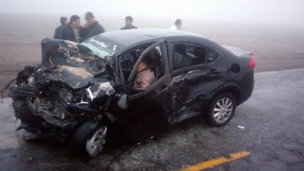 Accidente de tránsito Carretera Panamericana Sur