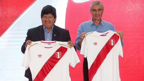 Selección Peruana presentó la camiseta que usará en el Mundial Rusia 2018