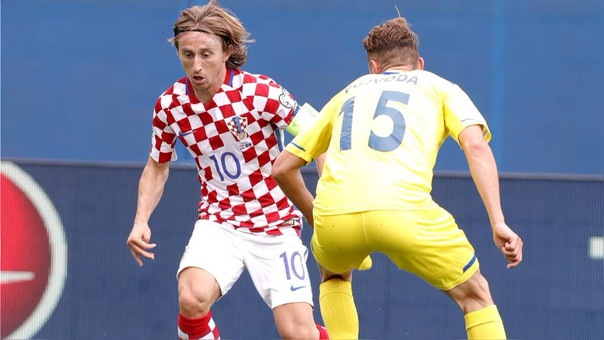 Luka Modric también es el capitán de Croacia.