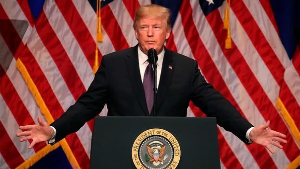 Donald Trump es presidente de los Estados Unidos desde enero de este año.