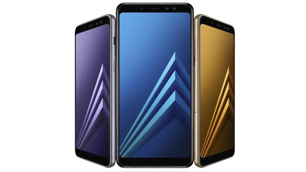 Samsung Galaxy A8 (2018) y A8+ (2018)